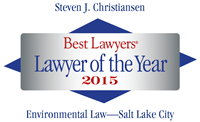 Attorney Steven J. Christiansen | Best Lawyers Lawyer of the Year 2015 | Environmental Law