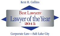 Attorney Kent H. Collins | Best Lawyers Lawyer of the Year 2015 | Corporate Law