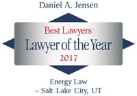 Attorney Daniel A. Jensen | Best Lawyers Lawyer of the Year 2017 | Energy Law