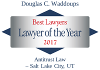 Douglas C Waddoups | Best Lawyers Lawyer of the Year 2020 | Antitrust Law