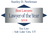 Stanley D. Neeleman | Best Lawyers Lawyer of the Year 2018 | Tax Law