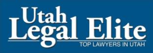 Top Lawyers in Utah - Utah Legal Elite logo