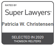 Attorney Patricia W. Christensen | Rated by Super Lawyers 2020