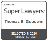 Attorney Thomas E. Goodwin   Rated by Super Lawyers 2020