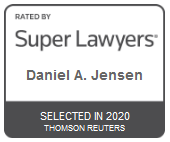 Attorney Daniel A. Jensen | Rated by Super Lawyers 2020