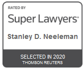 Stanley D. Neeleman | Rated by Super Lawyers 2020