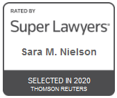 Attorney Sara M. Nielsen | Rated by Super Lawyers 2020