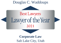 Douglas C Waddoups | Best Lawyers Lawyer of the Year 2021 | Corporate Law