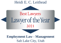 Heidi Leithead-Villa | Best Lawyers Lawyer of the Year 2021 | Employment Law