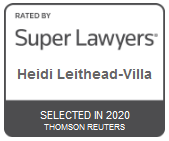 Heidi Leithead-Villa | Rated by Super Lawyers 2020