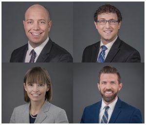 Four New Associates Join Parr Brown Team