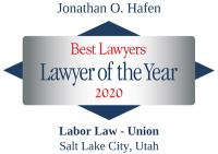 Attorney Jonathan O. Hafen | Best Lawyers Lawyer of the Year 2020 | Labor Law