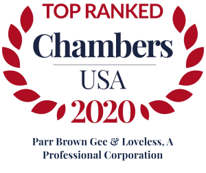 Chambers USA Recognizes Parr Brown as a Leading Utah Law Firm 2020