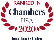 Attorney Jonathan O. Hafen | Chambers USA 2020