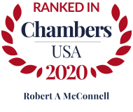 Attorney Robert A. McConnell | Chambers USA 2020